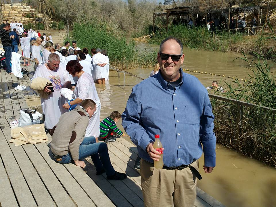 John at the River Jordan Baptism Site